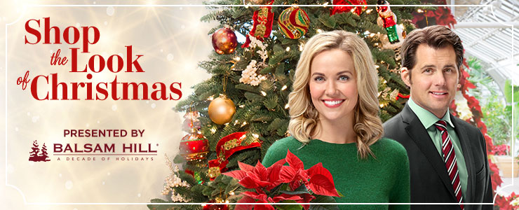 celebrate the season by shopping the look of your favorite hallmark movies mysteries holiday programming proudly presented by balsam hill - Christmas Hallmark Movies