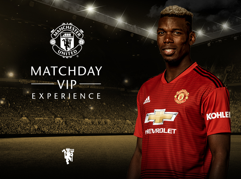 Register your interest for a Matchday VIP Experience