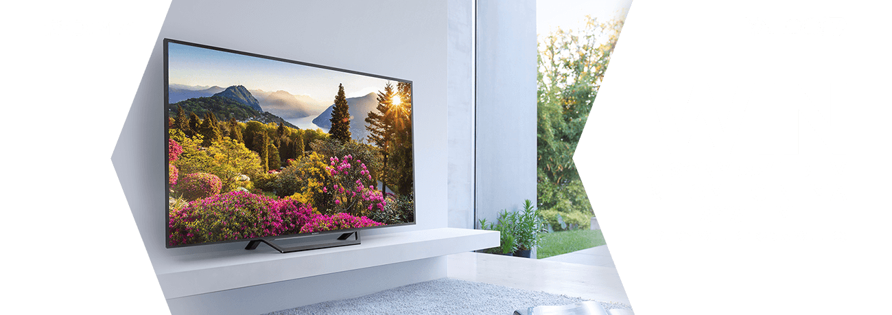 """Every week for 5 weeks WIN a Sony 55"""" HD TV & Home Cinema System"""